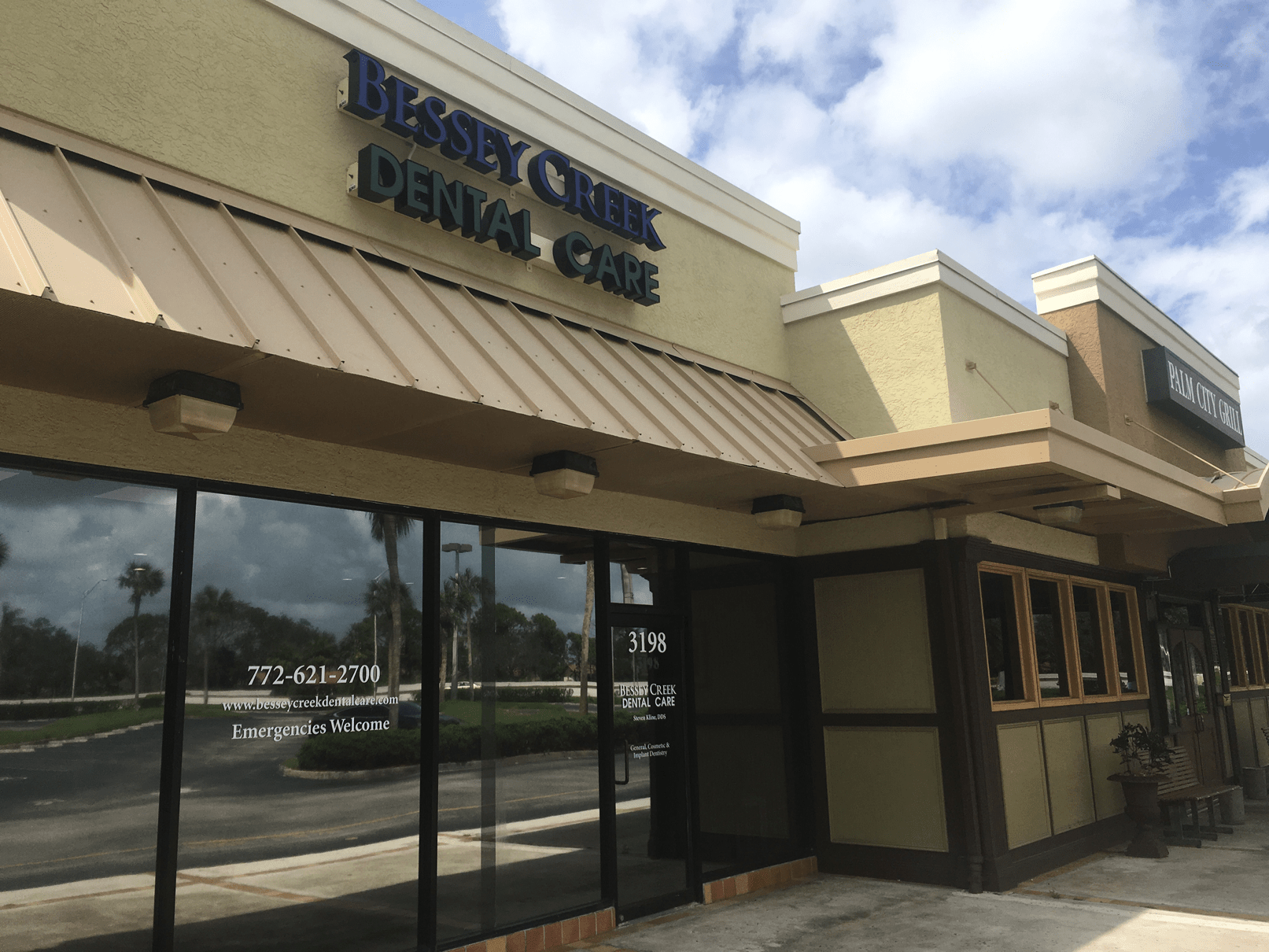 Bessey Creek Dental Care Office Placeholder | Dr. Steven Kline, Palm City Dentist serving Palm City, Martin Downs, Stuart, Port St. Lucie, Port Salerno and Martin County.