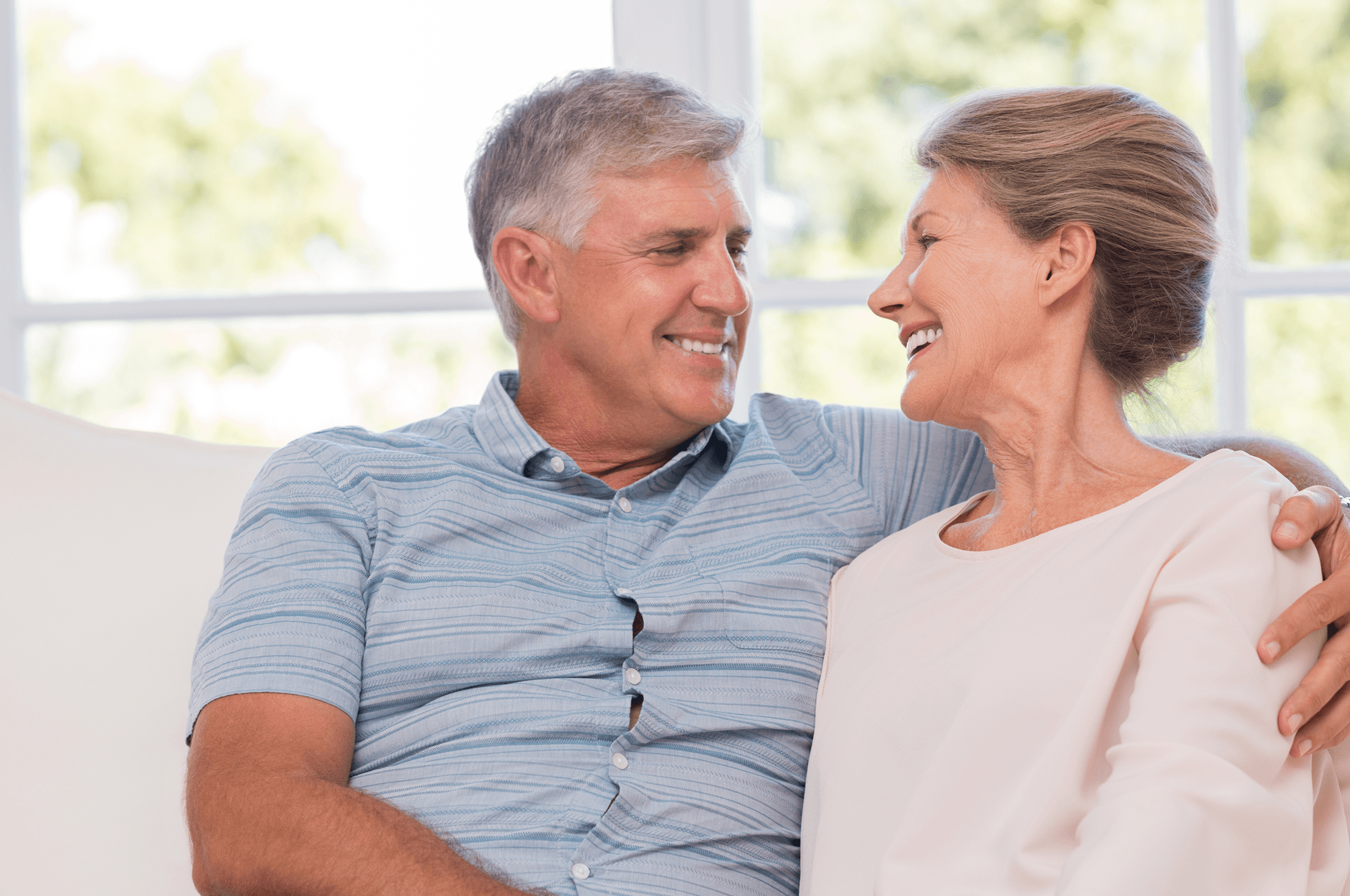 Couple Smiling | Palm City, FL